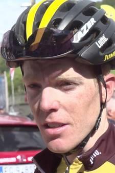 Interview met Kruijswijk na finish