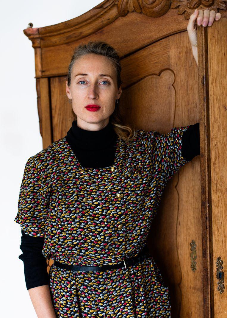 Marije Douma (39) Beeld Lin Woldendorp