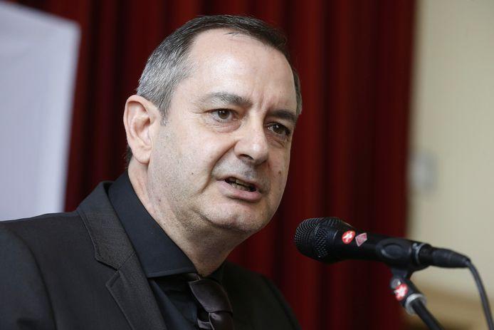 Paul Callewaert, secrétaire général de la caisse d'assurance maladie socialiste