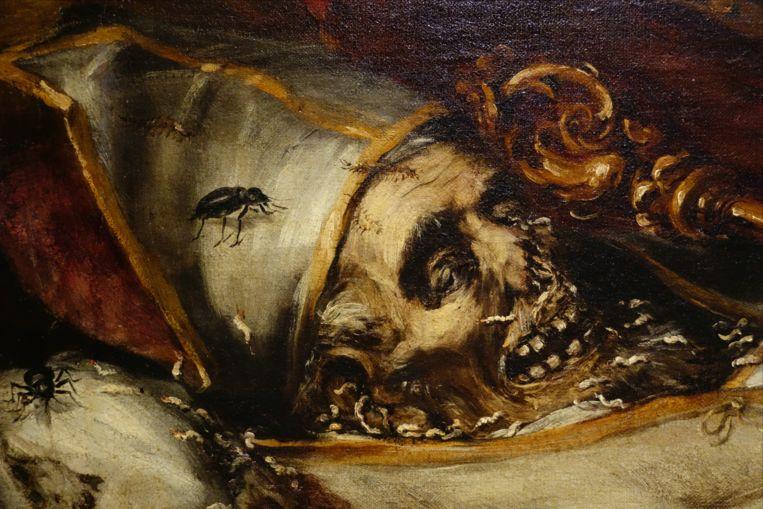 Detail uit Finis gloriae mundi van Juan de Valdés Leal, circa 1670-72. Beeld Hospital de la Caridad, Sevilla