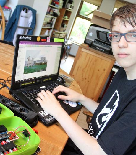 Jurre's hobby: de school hacken