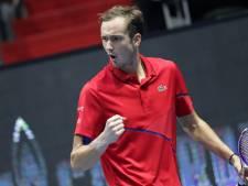 Medvedev wint ATP-toernooi in eigen land