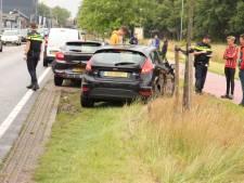 Drie voertuigen op elkaar geknald in Barneveld: vrouw gewond