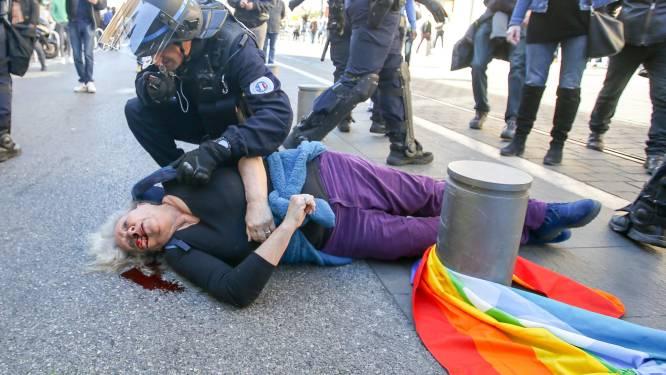 Onderzoek naar politiegeweld tegen 73-jarige vrouw die zwaargewond raakte tijdens protest gele hesjes