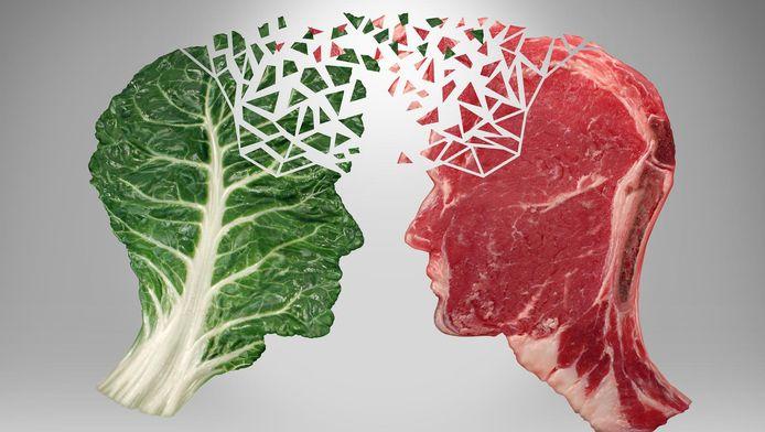 Ruim tweederde van de Nederlanders eet niet elke dag vlees