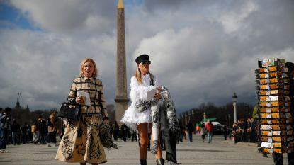 IN BEELD. De mooiste streetstyle op Paris Fashion Week