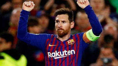 Barça bibbert héél even tegen Lyon, maar Messi gidst Catalanen toch naar ruime zege tegen Denayer en co