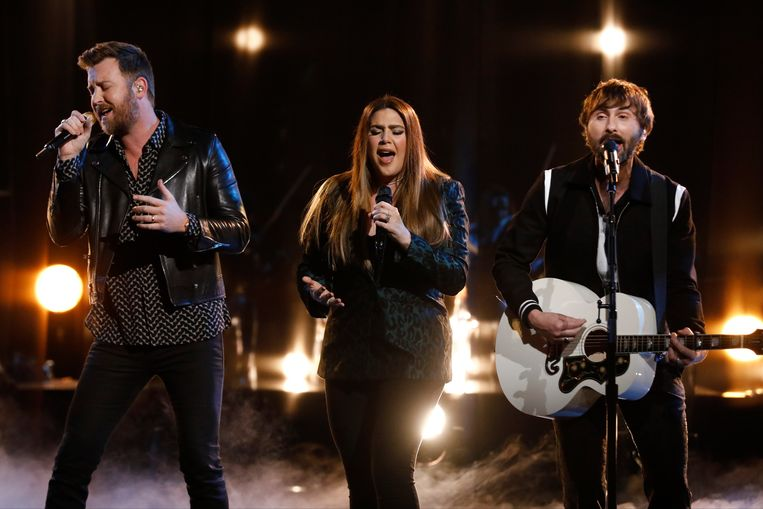 De band Lady Antebellum, sinds begin juni met nieuwe Lady A. Beeld NBCU Photo Bank via Getty Images