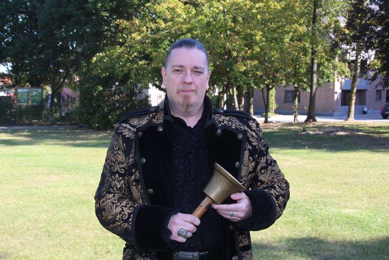 Filip Van Keer is sinds deze zomer de officiële Belleman van Lede.