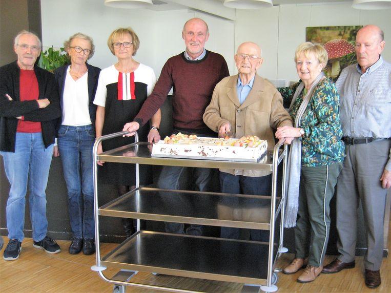 Lichterveldenaar Hector Ketels op zijn 106de en laatste verjaardag.