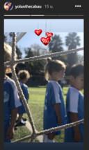 Xees Xava in voetbaltenue