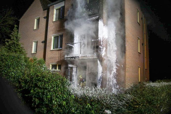 Brand in Deurne.