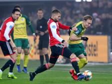 LIVE | Feyenoord kan nog geen vuist maken tegen Fortuna