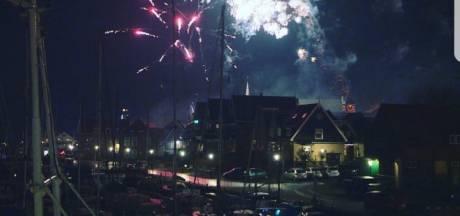 Terug van weggeweest: illegale vuurwerkshow op Urk