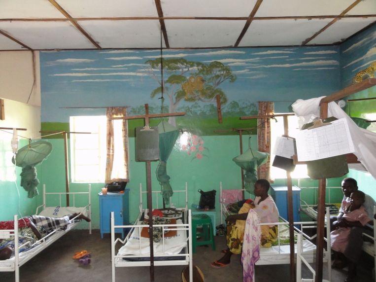 Het ziekenhuis op het platteland van West-Tanzania waar gynaecoloog Rob Mooij zijn onderzoek naar moedersterfte deed. Beeld