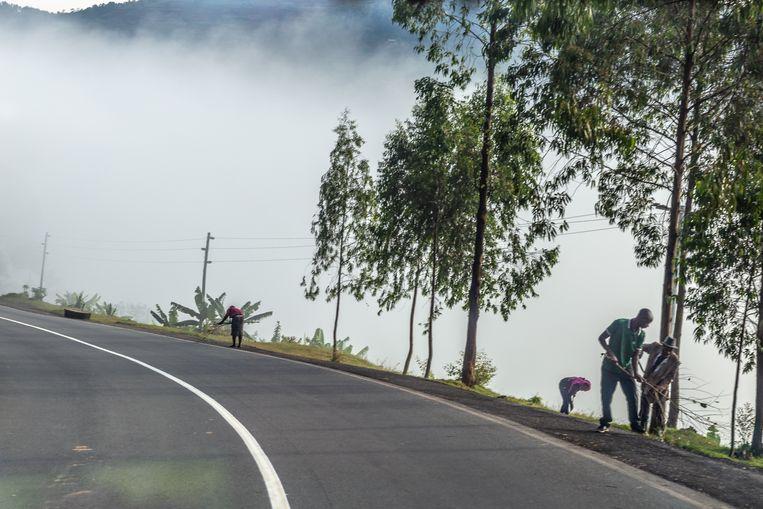 Rwanda leeft de wereld opruimen. Beeld Noel van Bemmel