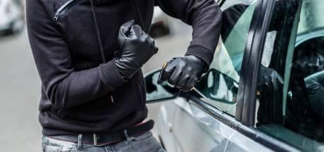 Aantal auto-inbraken in de regio stijgt fors in vergelijking met vorig jaar
