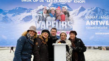 Vrouwenkomedie koelt 'Vapeurs' af met sneeuw