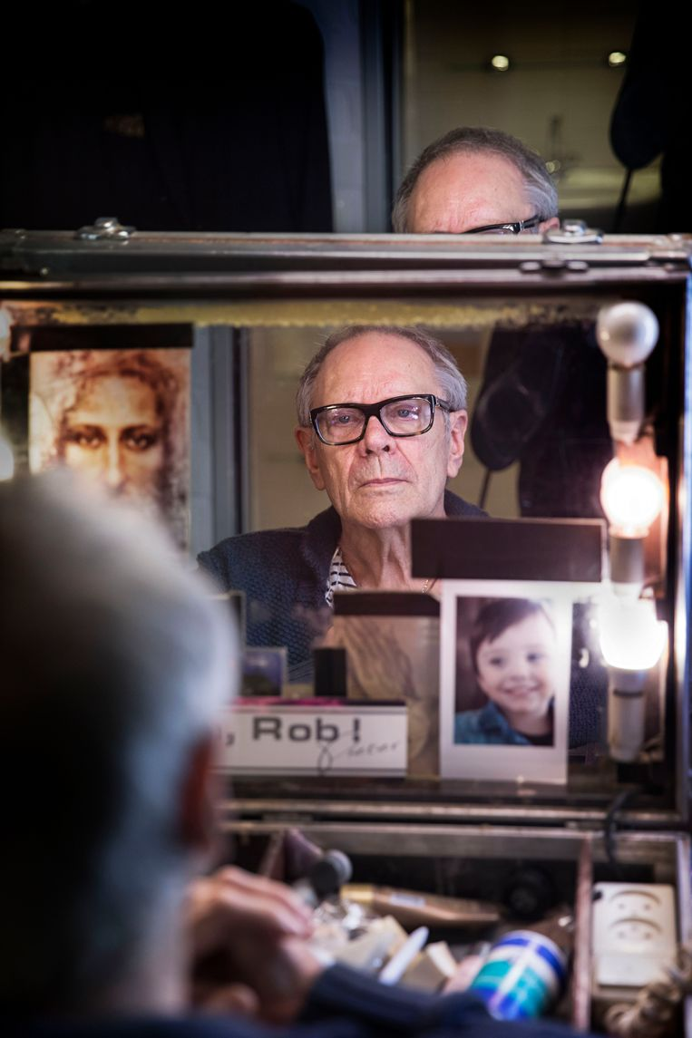 Rob de Nijs voor het jubileumconcert dat hij gaf ter ere van zijn 75ste verjaardag.  Beeld Werry Crone