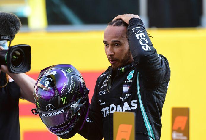 Lewis Hamilton boekt zijn negentigste zege in de Formule 1.