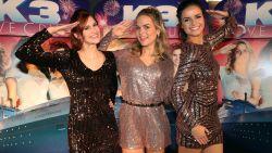 """'K3 Love Cruise', de eerste K3-film met Hanne, Klaasje en Marthe gaat in première: """"Zelf op cruise? Nee, daar zijn we te jong voor"""""""