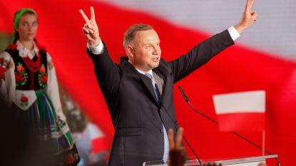 Tweede ronde Poolse presidentsverkiezingen tussen Duda en Trzaskowski
