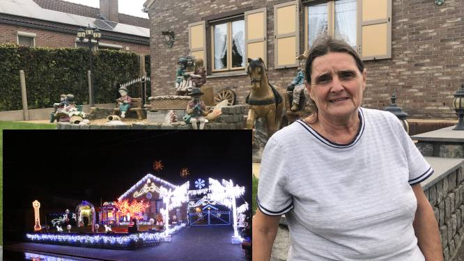 """Het huis van Anne-Marie is normaal elk jaar een minikerstdorp, maar corona nam dit keer de 'goesting' weg: """"Als ik geen mensen mag ontvangen, zet ik zelfs nog geen kerstboom"""""""