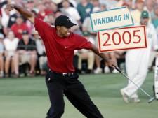 Misschien wel de knapste bal die Tiger Woods ooit sloeg
