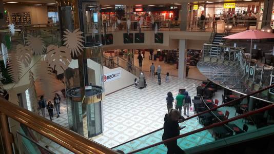 Winkelcentrum Bisonspoor is gedateerd.