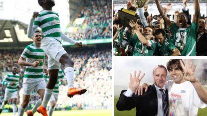 Van Celtic tot Olympique Lyon, ook deze clubs pakten net als Juventus 7 landstitels op rij