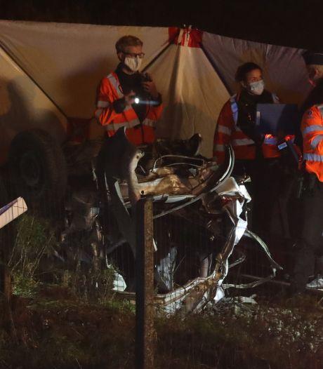Drie doden bij aanrijding trein met auto in België