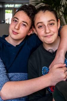 Lili en Howick terug op school in Amersfoort