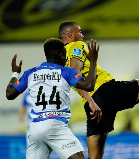 De Graafschap zakt naar zeventiende plek, maar behoudt voorsprong op NAC Breda