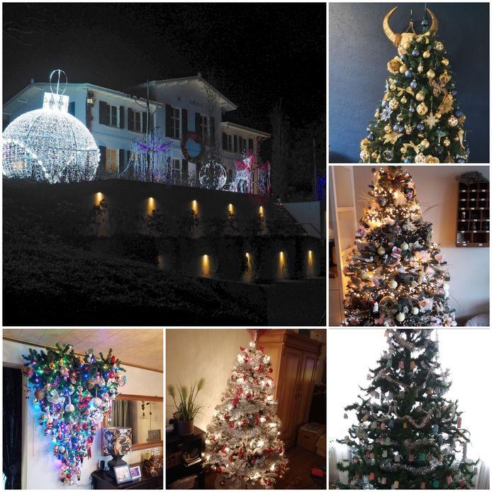 Op veel plaatsen branden de kerstlampjes al, binnen en buiten. Al ver voor Sinterklaas.