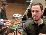 Axel (25) speelt slagwerk in een klassiek orkest