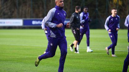 The day after: Anderlecht-spelers werken zich in het zweet op training