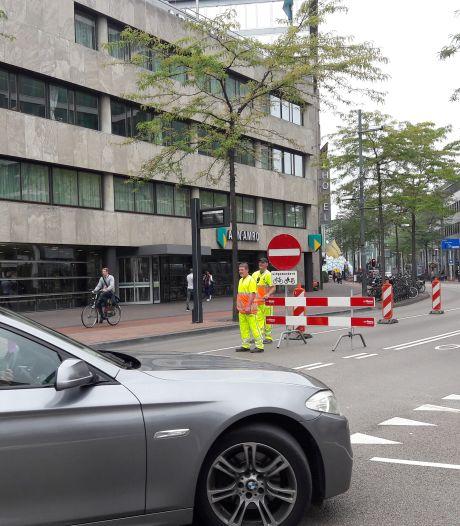 Afsluiting Vestdijk in Eindhoven leidt al tot chaotische toestanden