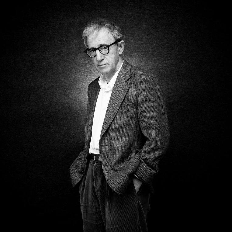 Woody Allen in Cannes, 2005. Beeld Nicolas Guerin / Getty Images