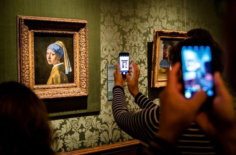 Het hele oeuvre van Johannes Vermeer (1632-1675) is vanaf vandaag te bekijken in een virtueel museum. Beeld ANP