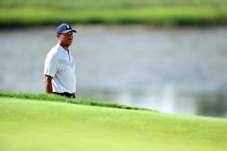 Tiger Woods was verwikkeld in buitenechtelijke affaires en raakte betrokken bij een verkeersongeluk. Beeld null