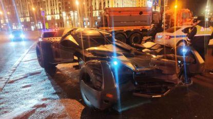 Russische politie haalt opmerkelijke lookalike van Batmobiel van de weg