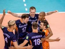 Volleyballers winnen op Papendal oefenduel met Finland