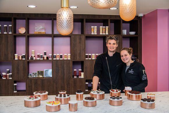 Niels en Justine delen hun passie voor chocolade in hun zaak Goût Fou in de Zeelse Kouterstraat.
