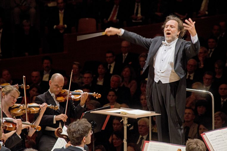Riccardo Chailly op het Lucerne Festival. Beeld Hollandse Hoogte