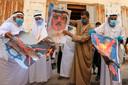 Palestijnen verbrandden deze week portretten van de koning van Bahrein, de Israëlische premier en de Amerikaanse president.