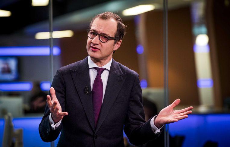 De Nederlandse Minister van Economische Zaken, Eric Wiebes.