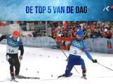 De vijf mooiste momenten van deze olympische dag