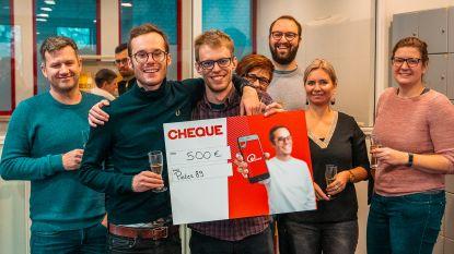 Leraars Scheppers winnen jackpot 500 euro