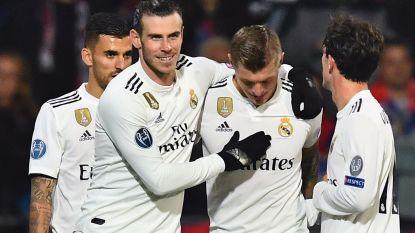 Real Madrid met forfaitcijfers voorbij Plzen, Courtois bij 0-0 gered door lat
