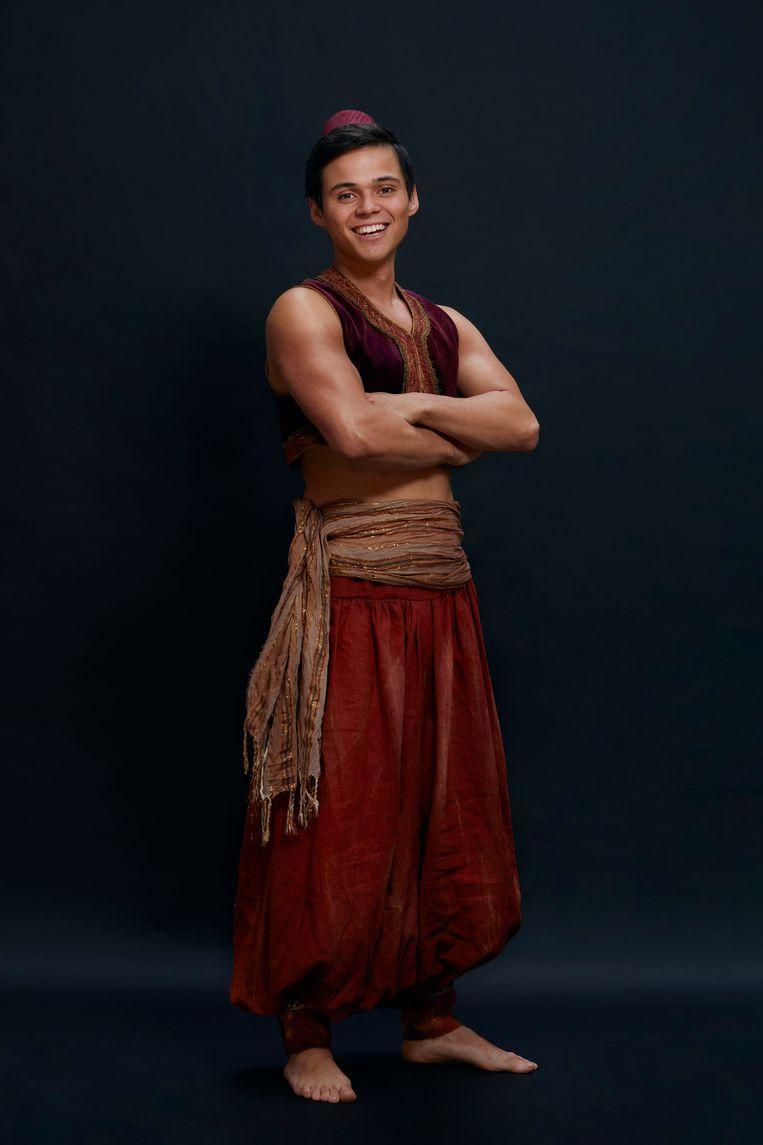 Gio als Aladdin.